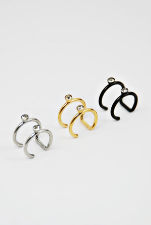Double Ear cuff - Boutique Minimaliste
