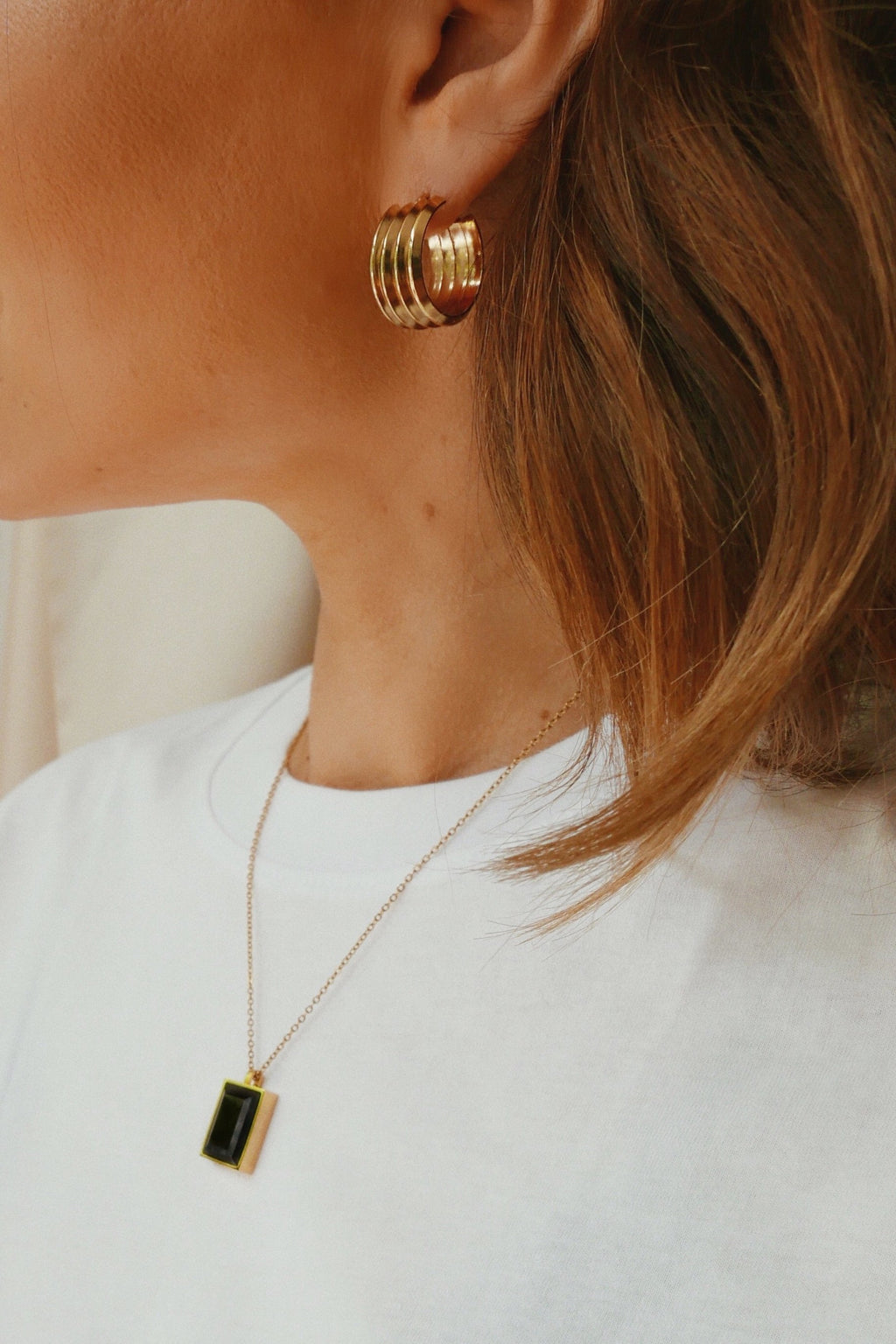 Giglio Hoop Earrings - Boutique Minimaliste