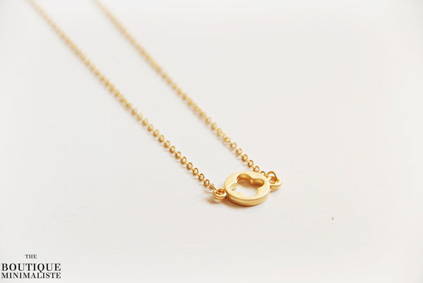22k Clover Necklace