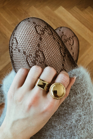 Jacques Signet Ring - Boutique Minimaliste