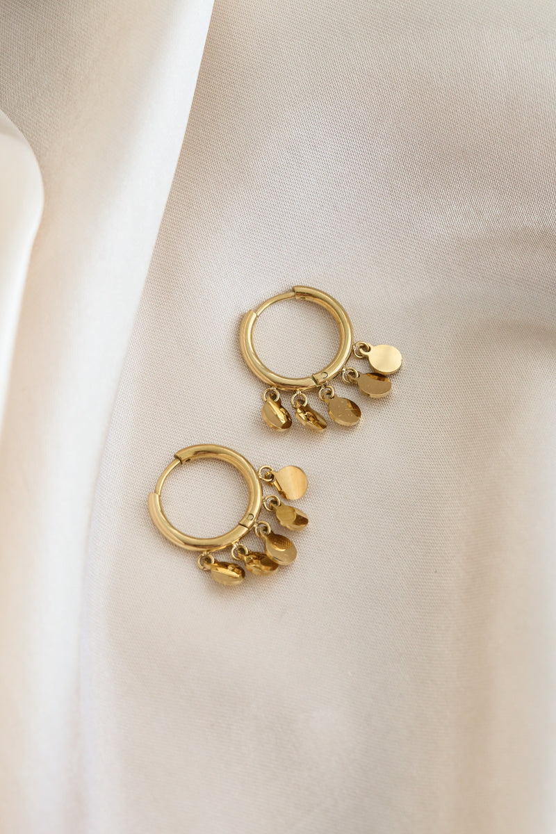 Kendall Hoop Earrings - Boutique Minimaliste