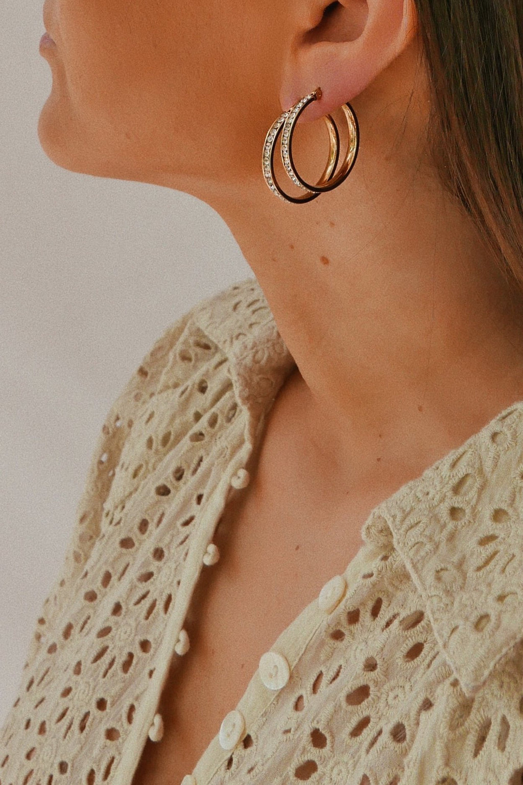 Lago Hoop Earrings - Boutique Minimaliste