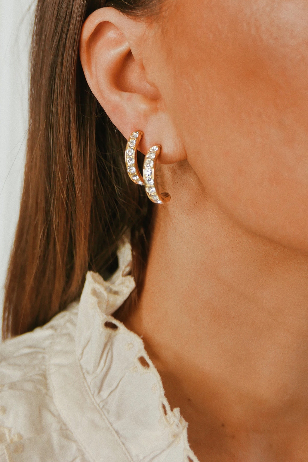 Light Hoop Earrings - Boutique Minimaliste
