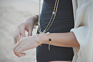 Lucius Vintage Chain bracelet - Long links - Boutique Minimaliste