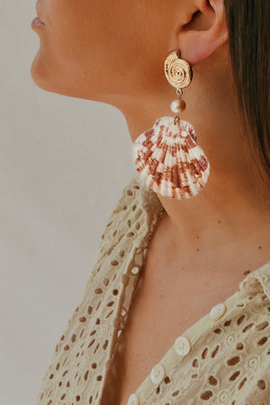 Milano Maritima Earring - Pink - Boutique Minimaliste