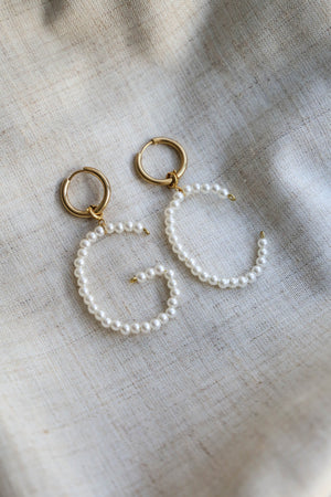 Pearl Initial - Boutique Minimaliste