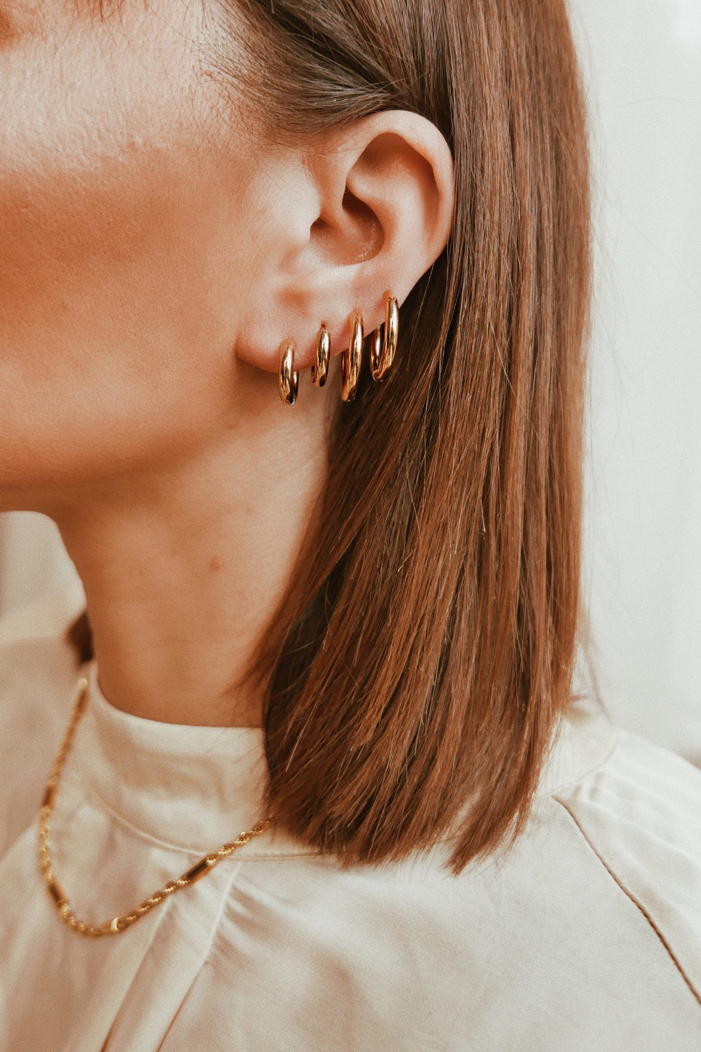 Perugia Hoop Earrings - Boutique Minimaliste