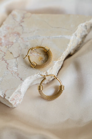 Phoebe Hoop Earrings - Boutique Minimaliste