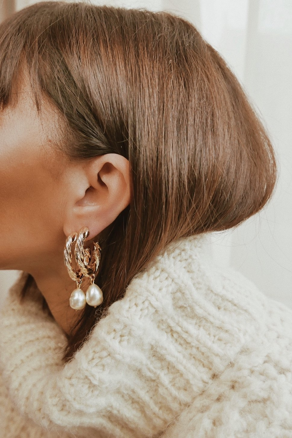 Positano Hoop Earrings - Boutique Minimaliste