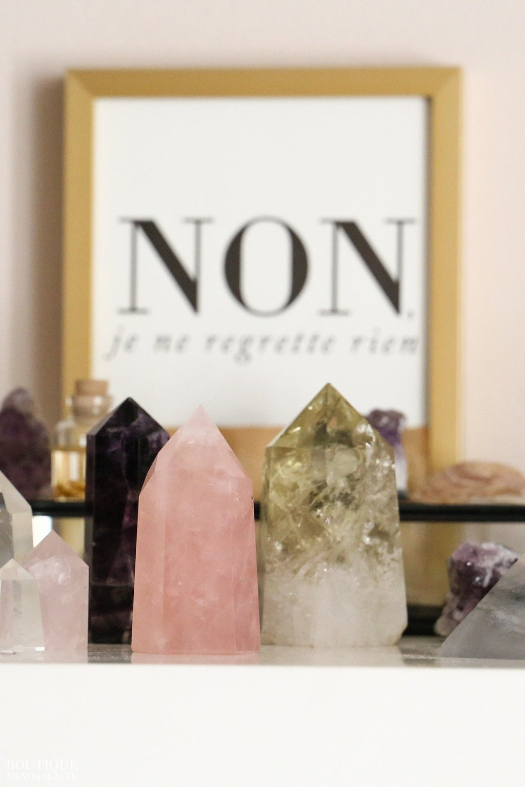 Rose Quartz Point - Boutique Minimaliste