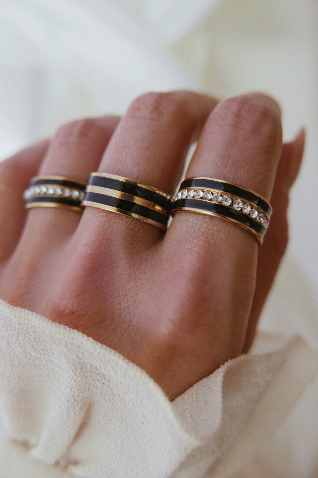 Salento Ring - Black - Boutique Minimaliste