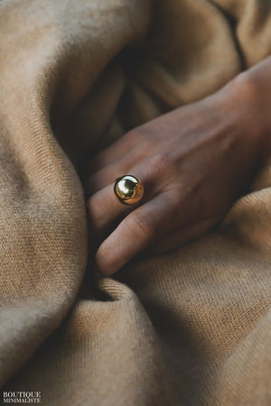 Sophie Orb Ring - Boutique Minimaliste