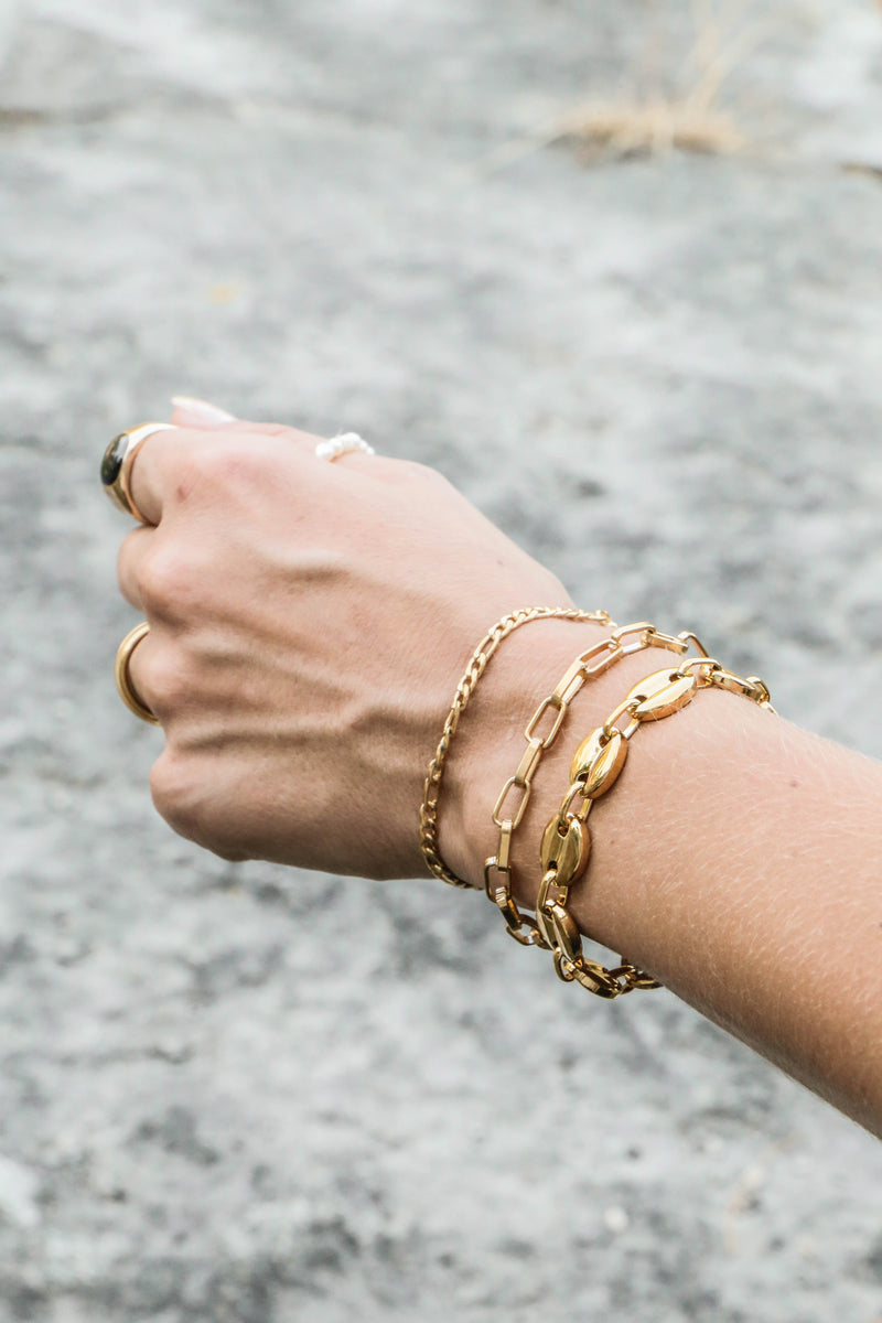 Statement Chain bracelet - Philo - Boutique Minimaliste