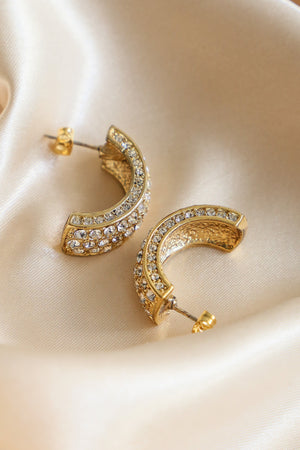 Sun Hoop Earrings - Boutique Minimaliste