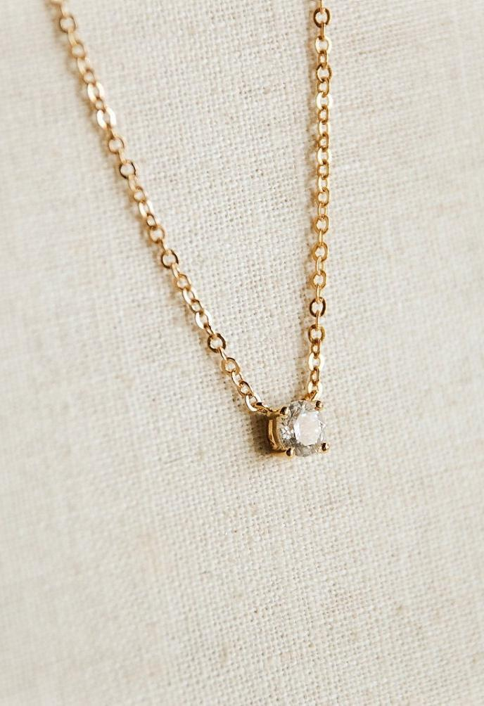Teeny tiny cubic zirconia - Boutique Minimaliste