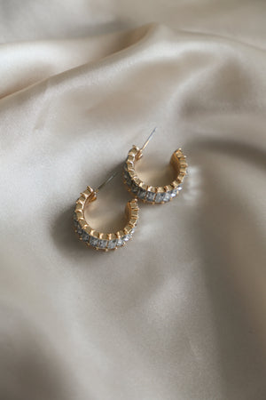 Trieste Hoop Earrings - Boutique Minimaliste