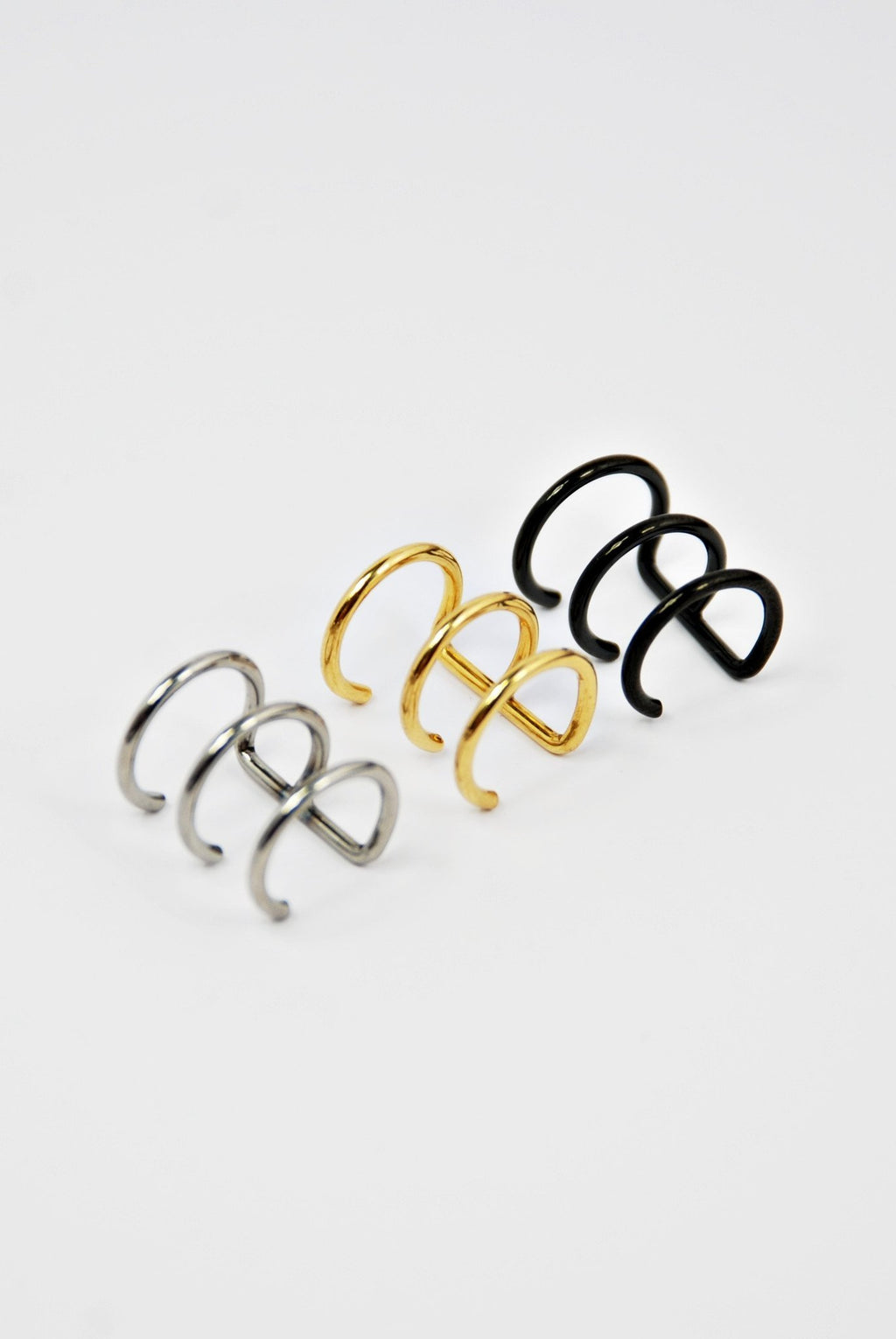 Triple Ear cuff - Boutique Minimaliste