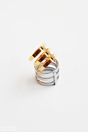 Triple Minimal Ring - Boutique Minimaliste