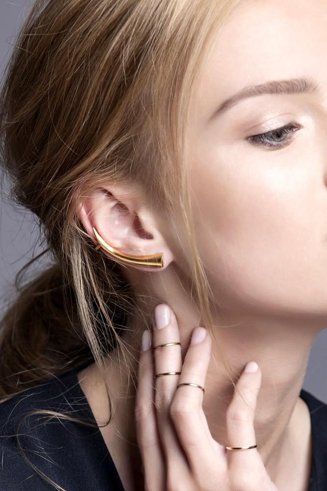 Tusk Ear Cuff - Boutique Minimaliste