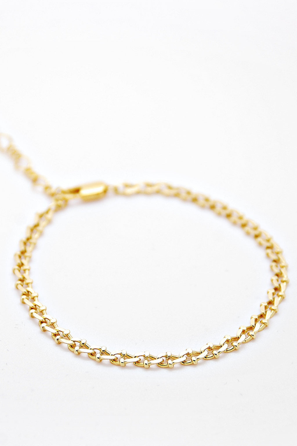Vintage Chain bracelet - Detailed - Boutique Minimaliste