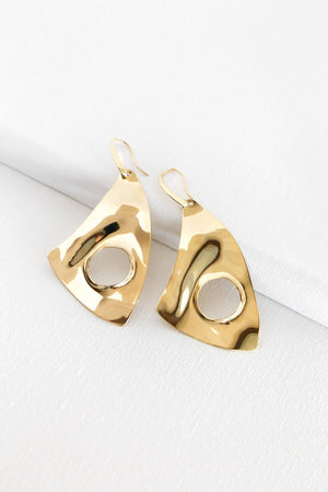 Vintage Wave Earrings - Boutique Minimaliste