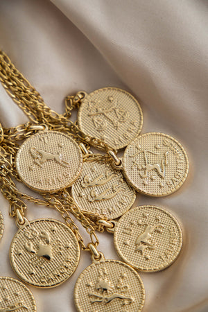Zodiac Necklace - Boutique Minimaliste