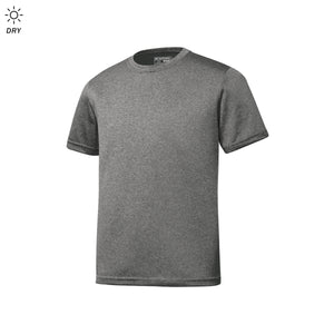 Face of God - Athletic Heather Grey