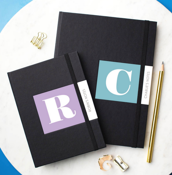 PERSONALISED BUSINESS ALPHABET NOTEBOOKS