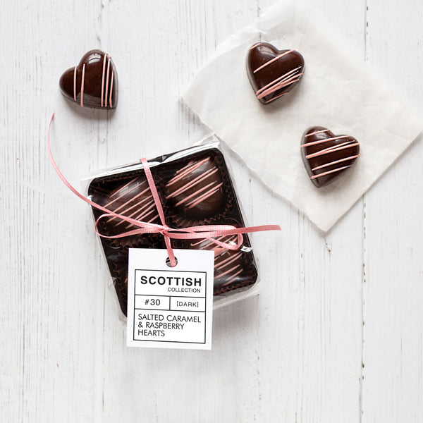 Mini Pack - Salted Caramel & Raspberry Hearts