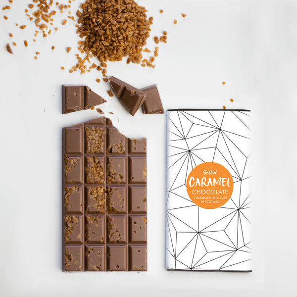 Salted Caramel Chocolate Bar, 100g