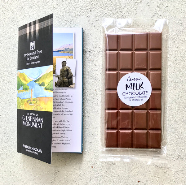 OWN LABEL CHOCOLATE BOOK BARS