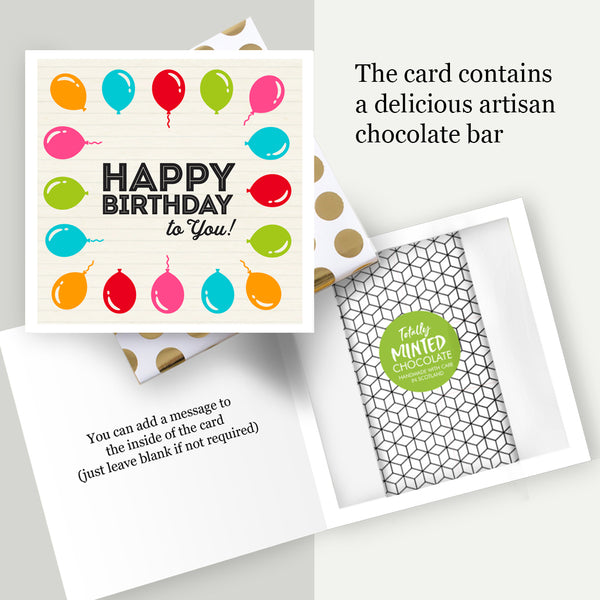 CHOCOLATE BAR CARDS
