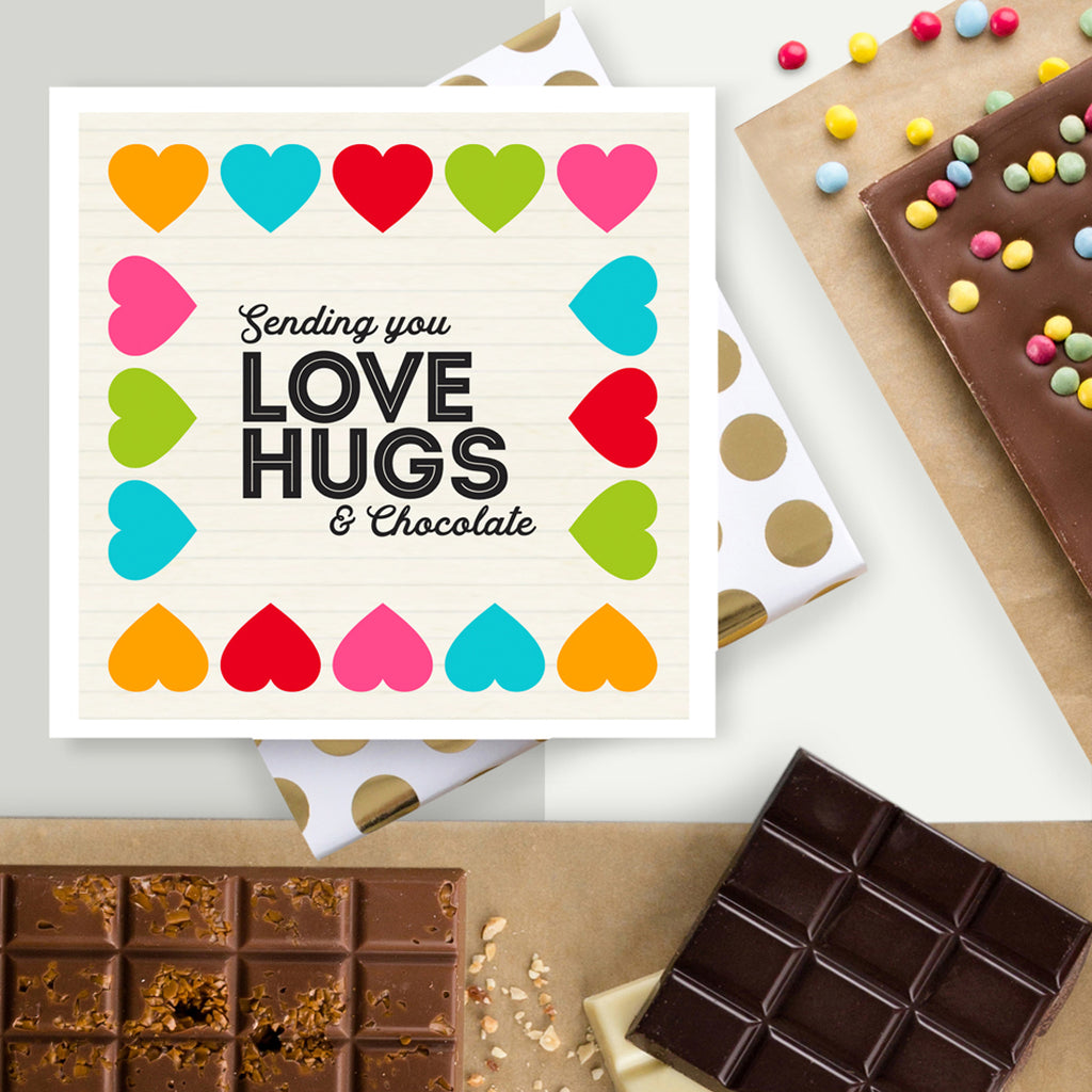 Own Design Chocolate Bar Cards Quirky Gift Library