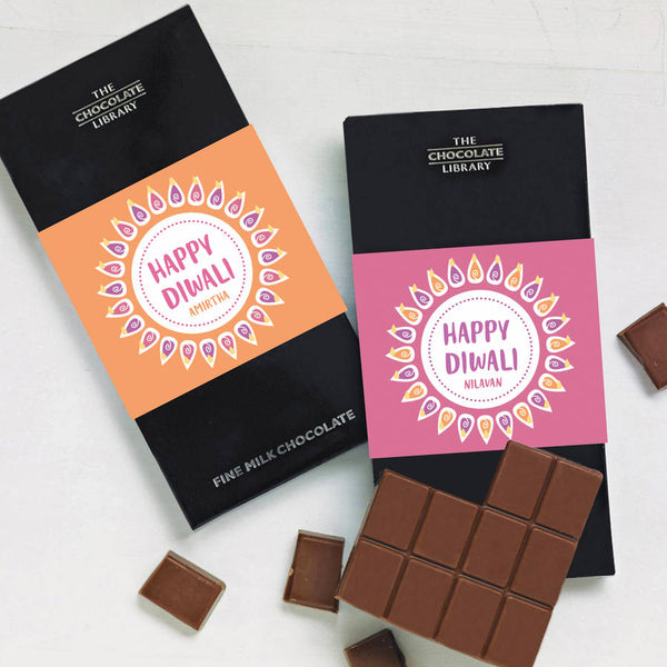 Happy Diwali Chocolate Bars