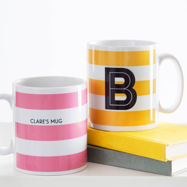 Personalised Alphabet Mugs for the Office