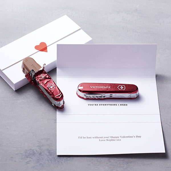 Chocolate Penknife Envelope