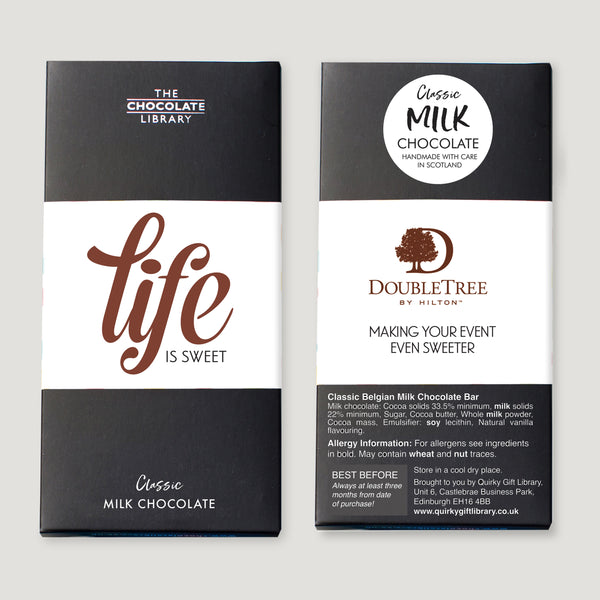 OWN LABEL CHOCOLATE BARS - RIGID BOX STYLE