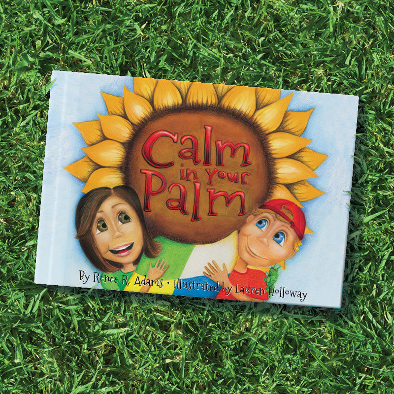 """Calm in Your Pam"" Book & Blanket"