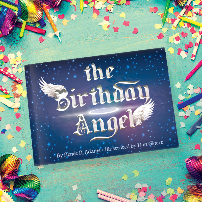"""the Birthday Angel"" Book, Angel and Wristbands"