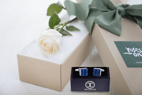 Roses and gifts for him
