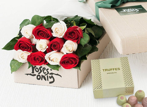 Roses and chocolates delivered Singapore