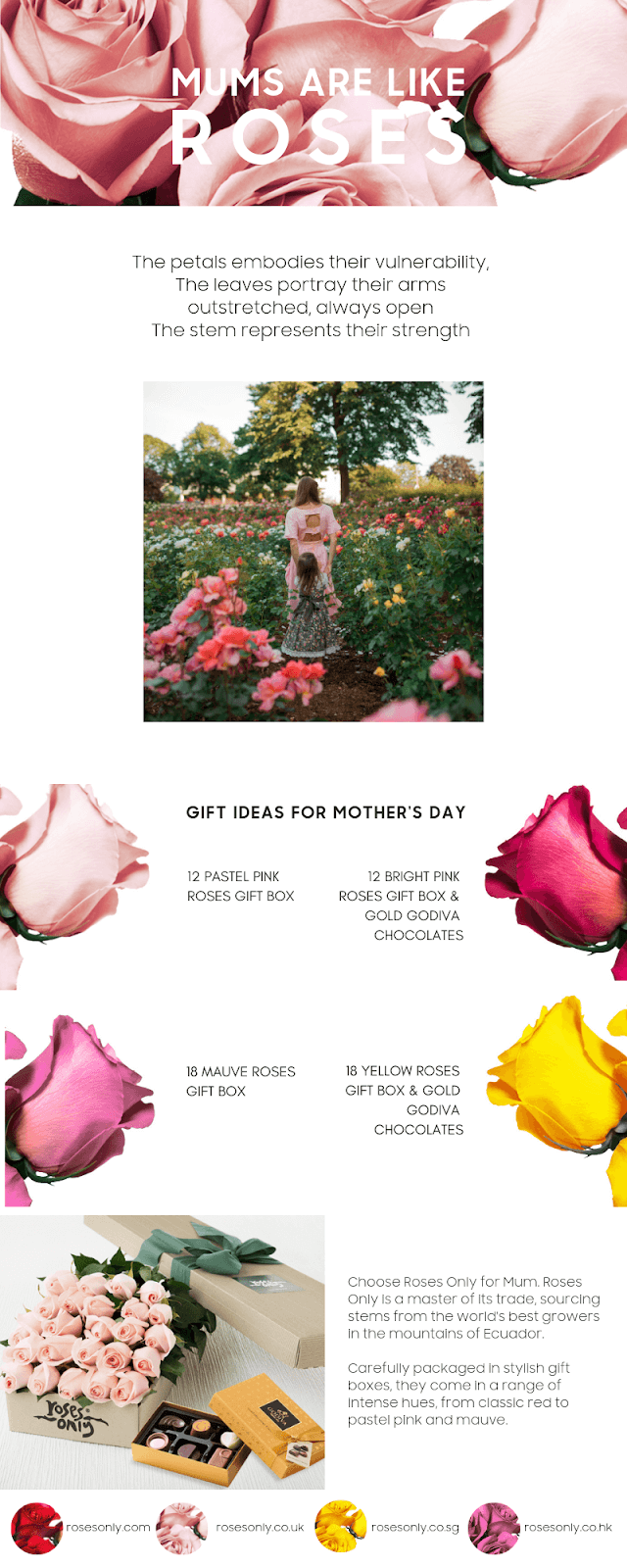 Mother S Day Gift Ideas Roses Only Sg
