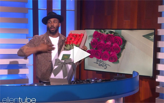 Click this link to see Roses Only's Valentine's day special for Ellen