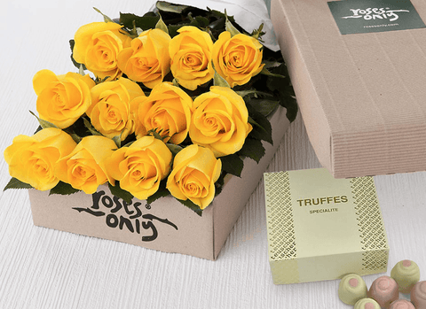 Yellow flowers delivery Singapore