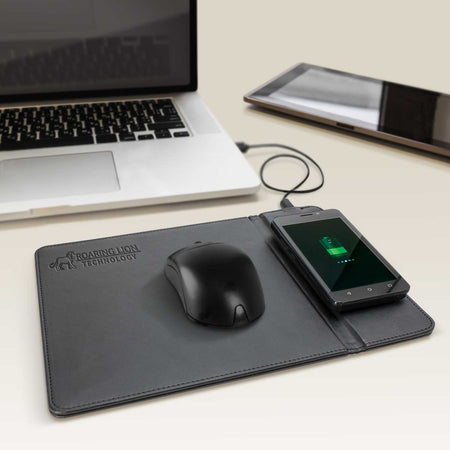 Wireless Charging Mouse Mat