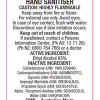 250ml Pump Hand Sanitiser