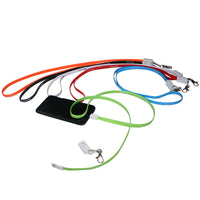 Charging Cable Lanyard with Clips
