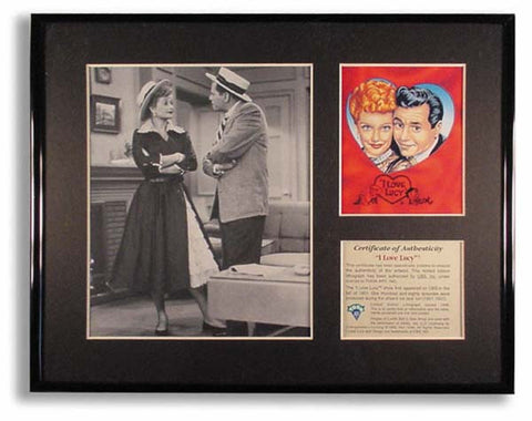 I Love Lucy & Desi Framed Art