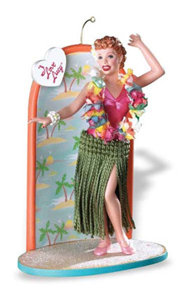 I Love Lucy Hula Ornament