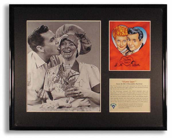 I Love Lucy Choc. Framed Art